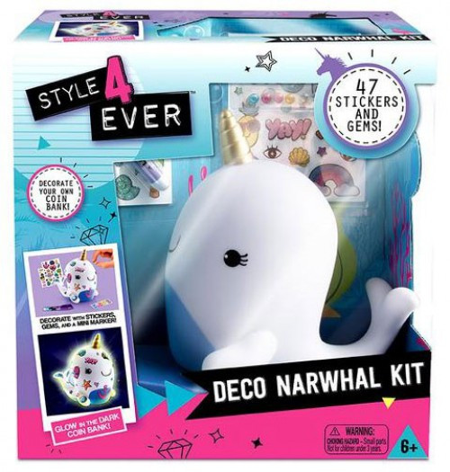 Style 4 Ever Deco Narwhal Kit