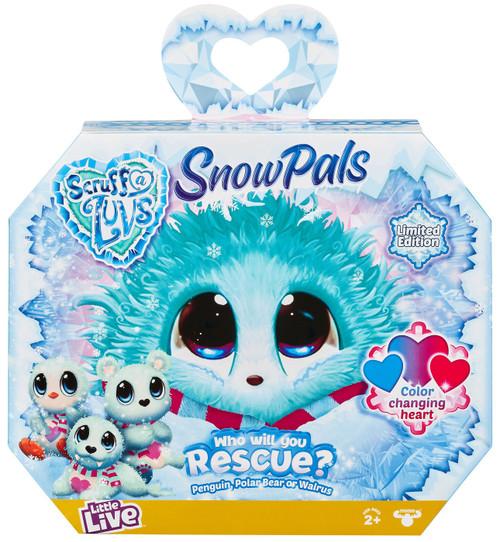 Little Live Pets Scruff A Luvs Snow Pals Exclusive Plush Surprise Rescue Pet