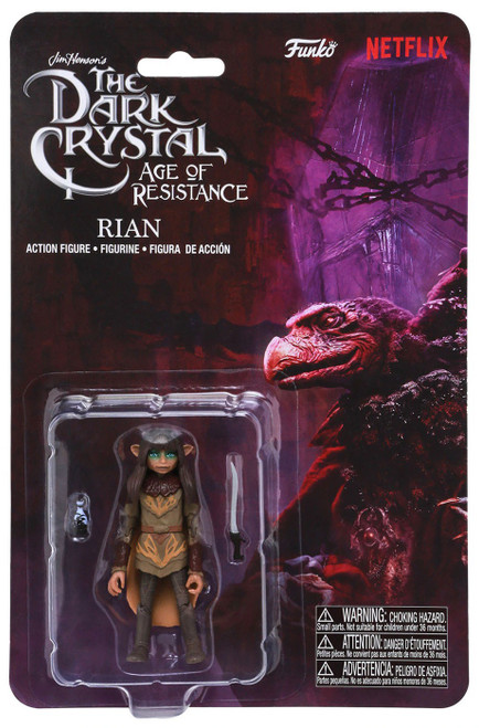 Funko The Dark Crystal Age of Resistance Rian Action Figure