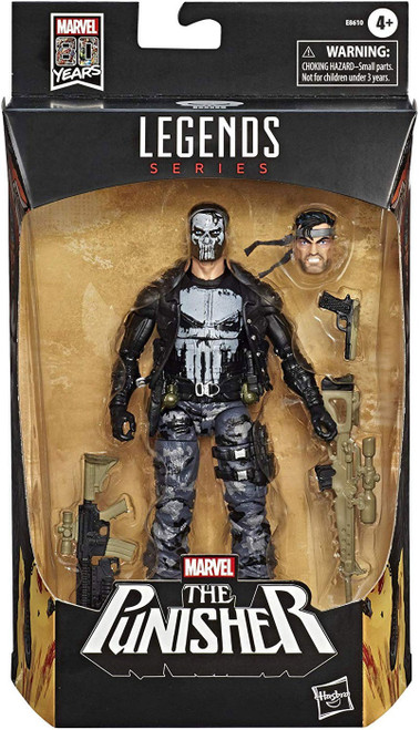 Marvel Legends 80th Anniversary Punisher Action Figure