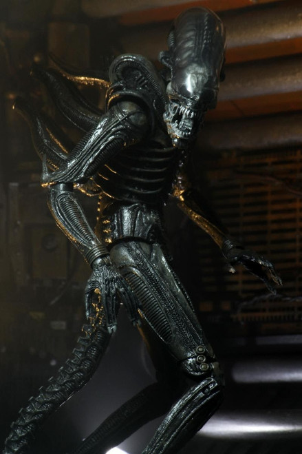 NECA 40th Anniversary Big Chap Alien Xenomorph Action Figure [Ultimate Version]