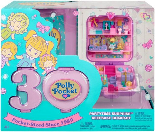 Polly Pocket Partytime Surprise Keepsake Compact Playset [Damaged Package]