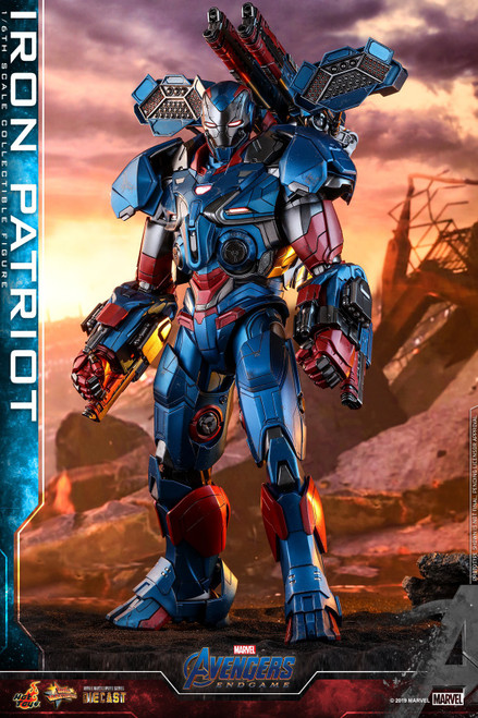 Marvel Avengers Endgame Iron Patriot Collectible Figure MMS528D34 [Non-Refundable Deposit] (Pre-Order ships May)