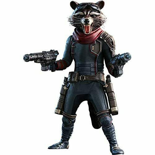 Marvel Avengers Endgame Rocket Racoon Collectible Figure MMS548