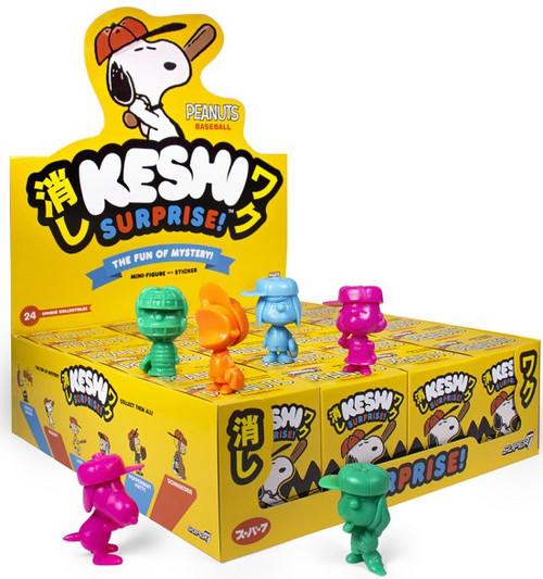 Keshi Surprise Peanuts Baseball 1.75-Inch Mystery Box [24 Packs]
