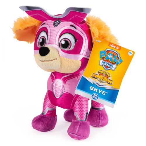 Paw Patrol Mighty Pups Super Paws Skye 8-Inch Plush
