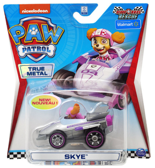 Paw Patrol Ready Race Rescue True Metal Skye Exclusive Diecast Car [Ready Race Rescue]