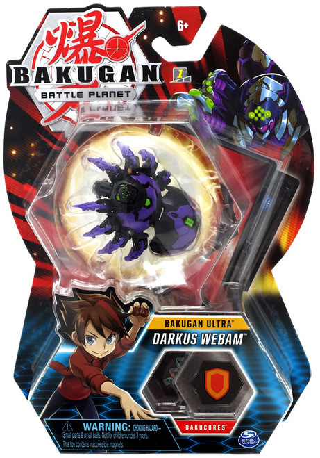 Bakugan Battle Planet Battle Brawlers Ultra Darkus Webam