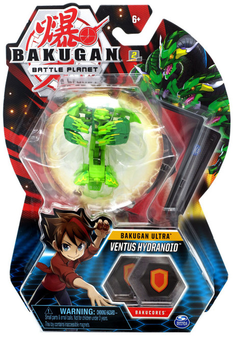 Bakugan Battle Planet Battle Brawlers Ultra Ventus Hydranoid