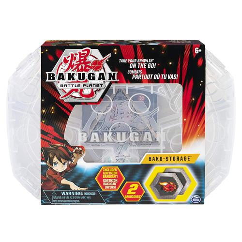 Bakugan Battle Planet Baku-Storage Storage Case [Clear, Includes Gorthion]
