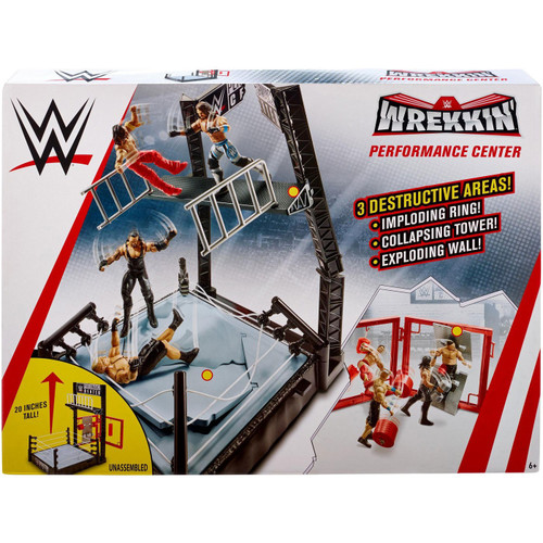 WWE Wrestling Wrekkin' Performance Center Playset