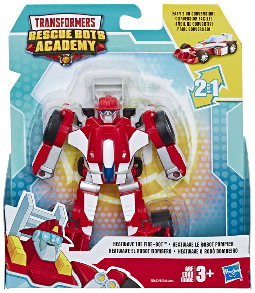 Transformers Playskool Heroes Rescue Bots Academy Heatwave the Fire-Bot Action Figure
