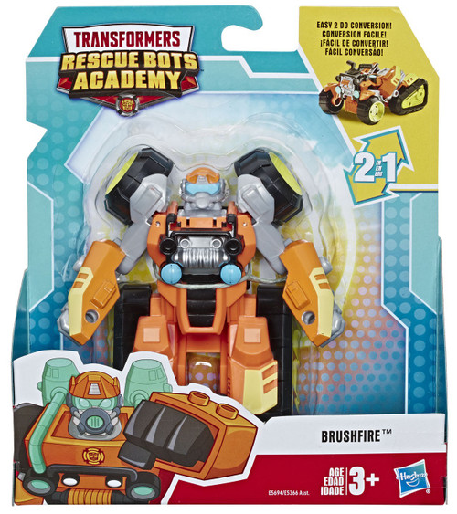 Transformers Playskool Heroes Rescue Bots Academy Brushfire Action Figure