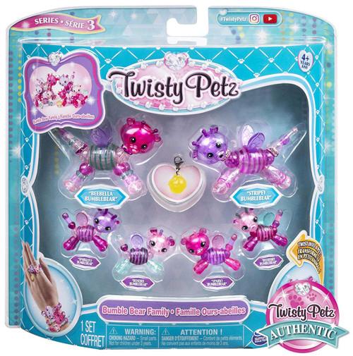 Twisty Petz Series 3 Bumble Bear Family Set