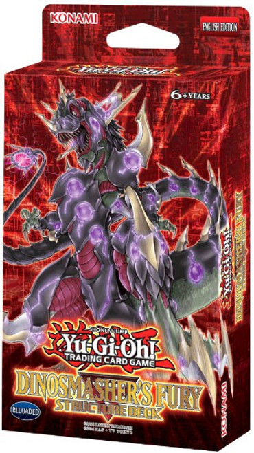 YuGiOh Trading Card Game Dinosmasher's Fury (Unlimited) Structure Deck