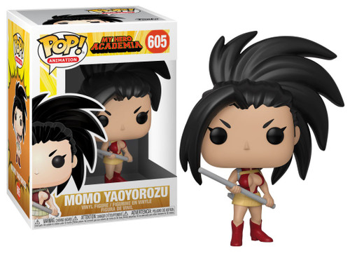 Funko My Hero Academia POP! Animation Momo Yaoyorozu Vinyl Figure #605