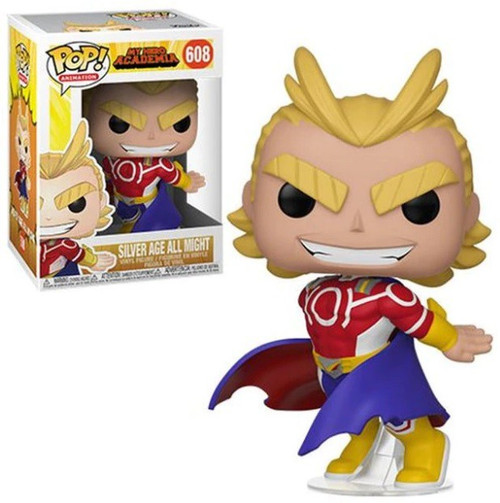 Funko My Hero Academia POP! Animation Silver Age All Might Vinyl Figure