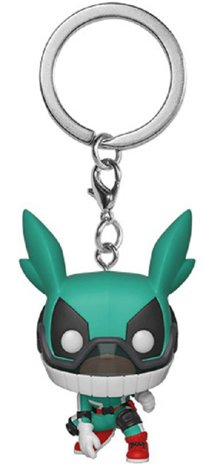 Funko My Hero Academia Deku with helmet Keyring