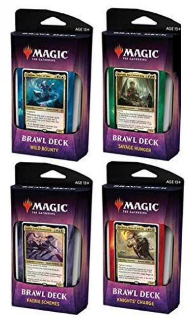 MtG Trading Card Game Throne of Eldraine Set of 4 Brawl Decks