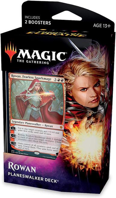 MtG Trading Card Game Throne of Eldraine Rowan Planeswalker Deck