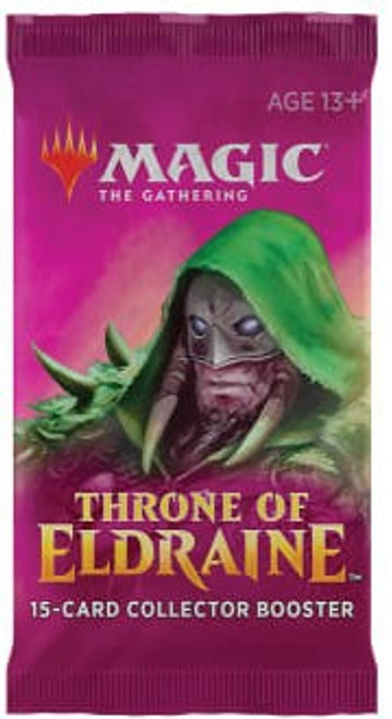 MtG Trading Card Game Throne of Eldraine COLLECTOR Booster Pack [15 Cards]