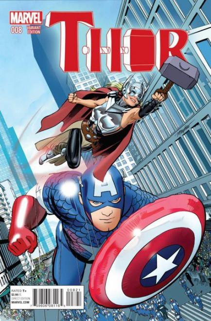 Marvel Comics Thor Vol. 4 #8 Comic Book [NYC Variant Cover]