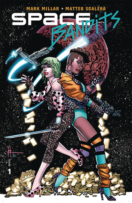 Image Comics Space Bandits #1 Limited to 3000 Comic Book [Howard Chaykin Legends Variant Cover]