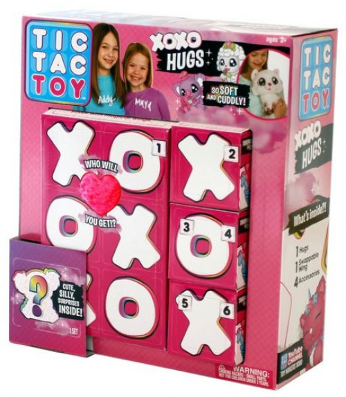 Tic Tac Toy XOXO Hugs Mystery 6-Pack [Version 1]