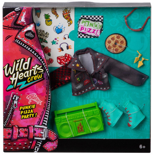 Wild Hearts Crew Punkie Pizza Party! 8-Piece Accessory Set