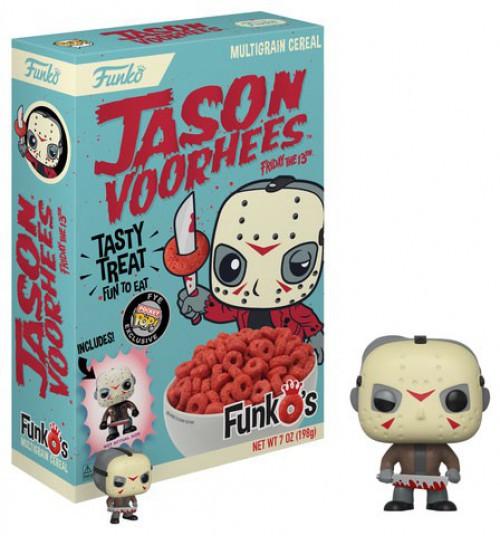 FunkO's Jason Voorhees Exclusive 7 Oz. Breakfast Cereal [Damaged Package]