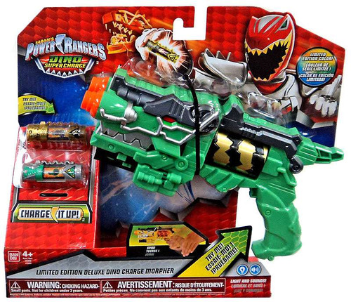 Power Rangers Dino Super Charge Limited Edition Deluxe Charge Morpher Roleplay Toy