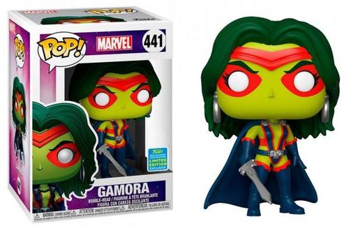 Funko Guardians of the Galaxy POP! Marvel Classic Gamora Exclusive Vinyl Bobble Head #441