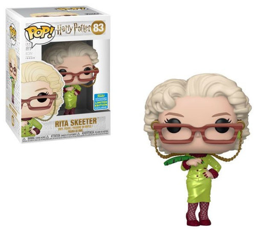 Funko Harry Potter POP! Movies Rita Skeeter Exclusive Vinyl Figure #83