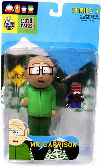 South Park Series 3 Mr. Garrison Action Figure