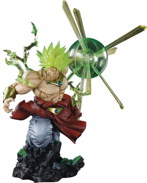 Dragon Ball Z Figuarts ZERO Super Saiyan Broly 12.6-Inch Statue [The Burning Battles, Damaged Package]