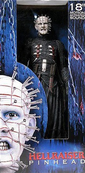 NECA Hellraiser Pinhead Action Figure [Motion Activated Sound]