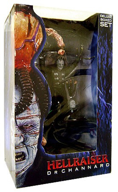 NECA Hellraiser Series 3 Dr. Channard Deluxe Action Figure Boxed Set