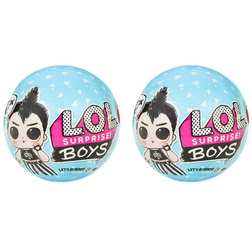 LOL Surprise Boys Series 1 LOT of 2 Mystery Packs