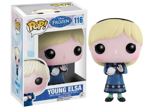 Funko Disney Frozen POP! Movies Young Elsa Vinyl Figure #116 [Damaged Package]