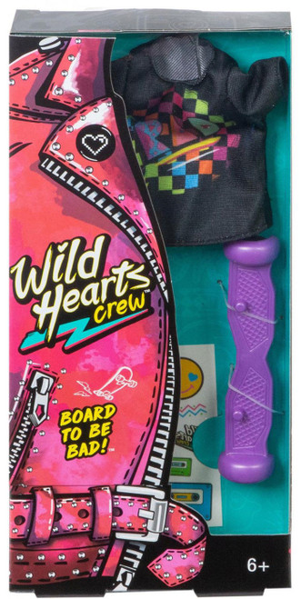 Wild Hearts Crew Board To Be Bad! 4-Piece Accessory Set