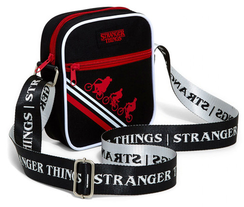 Stranger Things Bicycle Silhouettes Shoulder Bag
