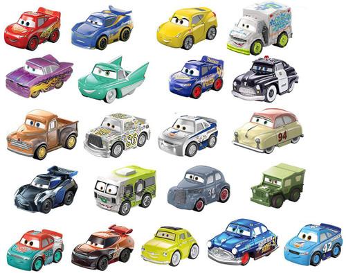 Disney / Pixar Cars Die Cast Mini Racers Mini Racers Exclusive Car 21-Pack