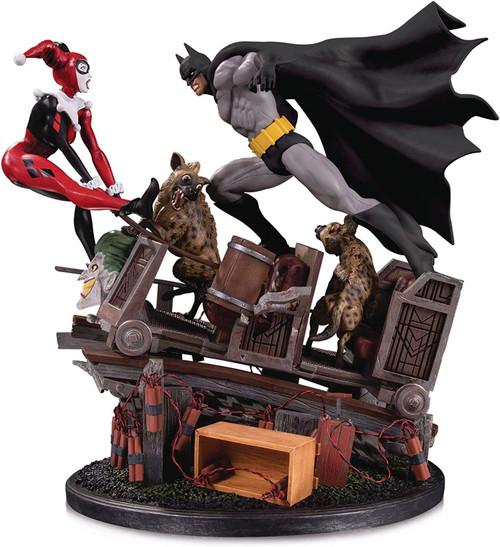 DC Batman vs. Harley Quinn 15.5-Inch Battle Statue [Second Edition]