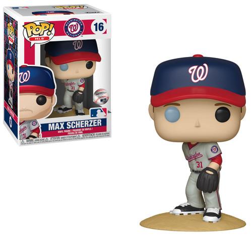 Funko MLB POP! Sports Baseball Max Scherzer Vinyl Figure [Road, Damaged Package]