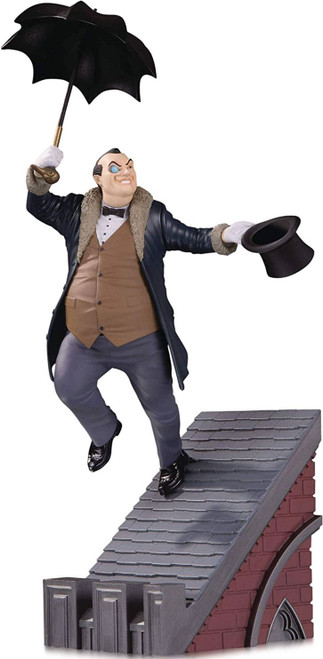 DC Batman Rogues Gallery The Penguin 9.14-Inch Limited to 5000 Multi-Part Statue Diorama