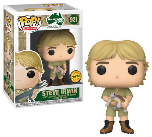Funko The Crocodile Hunter POP! TV Steve Irwin Vinyl Figure [with Turtle, Chase Version]