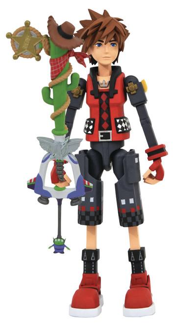 Disney Kingdom Hearts 3 Toy Story Sora Action Figure [Valor Form]