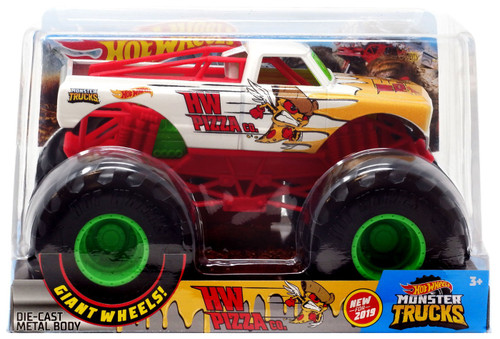 Hot Wheels Monster Trucks HW Pizza Co. Diecast Car
