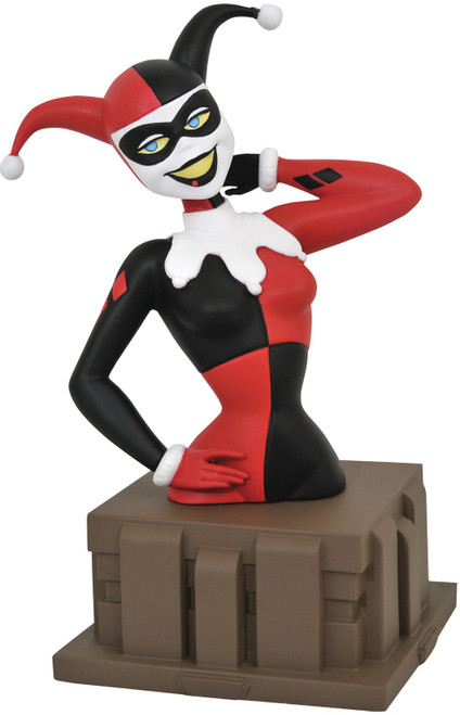 Batman The Animated Series Harley Quinn 6-Inch PVC Bust [Harlequinade]
