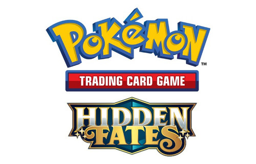 Pokemon Trading Card Game Sun & Moon Hidden Fates Charizard-GX Tin Set [4 Booster Packs & Promo Card]